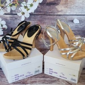 2 Bakers Marlana Strappy Heel Sandals
